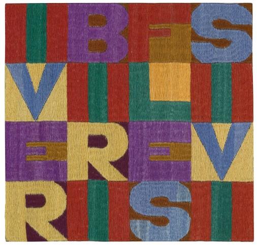 "<span class=""artist""><strong>Alighiero Boetti</strong></span>, <span class=""title""><em>I Verbi Riflessivi</em>, 1979</span>"
