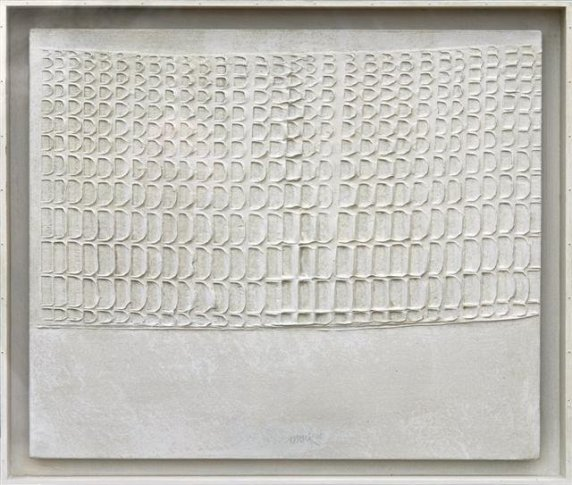 <span class=&#34;artist&#34;><strong>Heinz Mack</strong></span>, <span class=&#34;title&#34;><em>White Relief</em>, 1966</span>