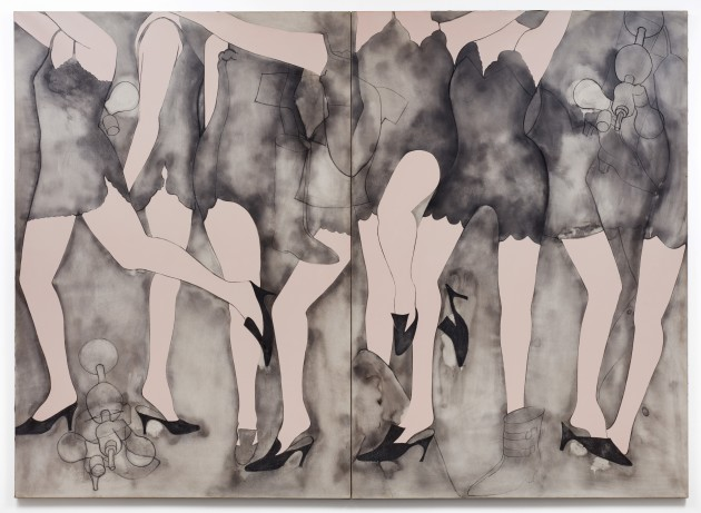 "<span class=""artist""><strong>Jim Dine</strong></span>, <span class=""title""><em>Moving Girls & Dreams</em>, 1965</span>"