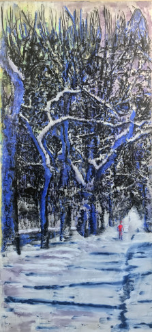 <span class=&#34;artist&#34;><strong>Ena Swansea</strong></span>, <span class=&#34;title&#34;><em>into the trees</em>, 2019</span>