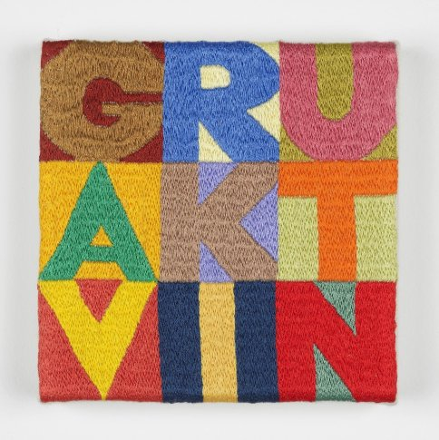 <span class=&#34;artist&#34;><strong>Gavin Turk</strong></span>, <span class=&#34;title&#34;><em>Letters & Colours</em>, 2012</span>