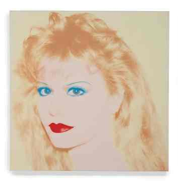"""<span class=""""artist""""><strong>Andy Warhol</strong></span>, <span class=""""title""""><em>Portrait of Terre Blair</em>, 1985</span>"""