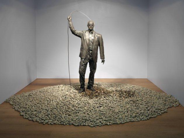 "<span class=""artist""><strong>Gavin Turk</strong></span>, <span class=""title""><em>Self Portrait (Fountain)</em>, 2012</span>"