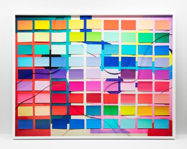 "<span class=""artist""><strong>Vik Muniz</strong></span>, <span class=""title""><em>Messy Colour Grid (Handmade)</em>, 2019</span>"