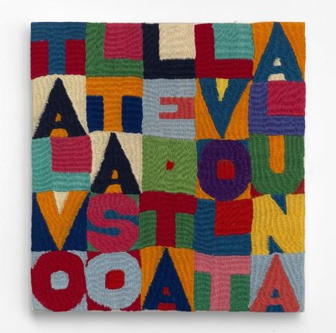 """<span class=""""artist""""><strong>Alighiero Boetti</strong></span>, <span class=""""title""""><em>Talvolta Sole Talvolta Luna</em>, 1986</span>"""