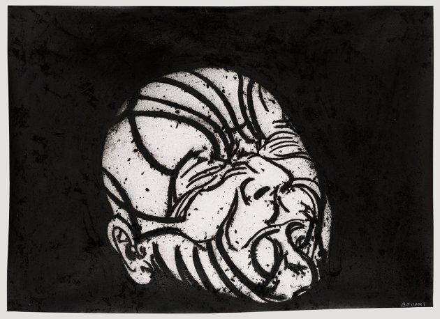 <span class=&#34;artist&#34;><strong>Tony Bevan</strong></span>, <span class=&#34;title&#34;><em>Self-Portrait after Messerschmidt</em>, 2010</span>