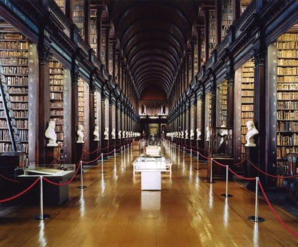 <span class=&#34;artist&#34;><strong>Candida Höfer</strong></span>, <span class=&#34;title&#34;><em>Trinity College Library Dublin II</em>, 2004</span>