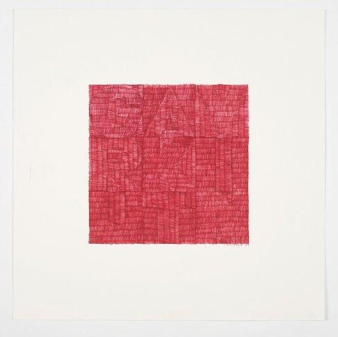 """<span class=""""artist""""><strong>Gavin Turk</strong></span>, <span class=""""title""""><em>Snail (Red Biro)</em>, 2012</span>"""