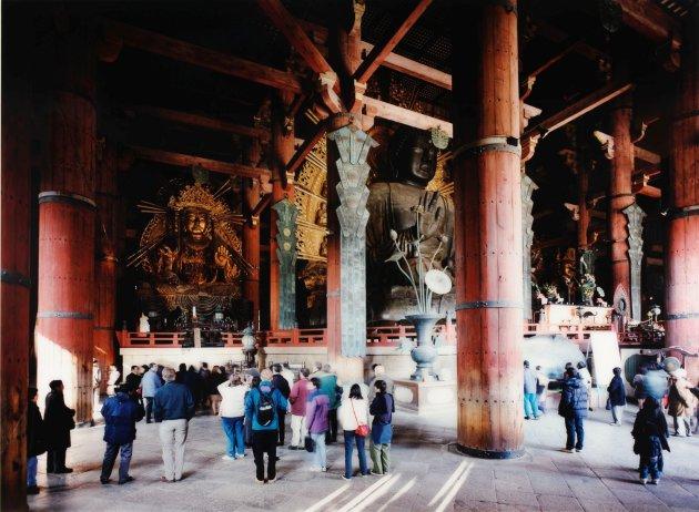 "<span class=""artist""><strong>Thomas Struth</strong></span>, <span class=""title""><em>Todai-ji, Interior, Nara</em>, 1999</span>"