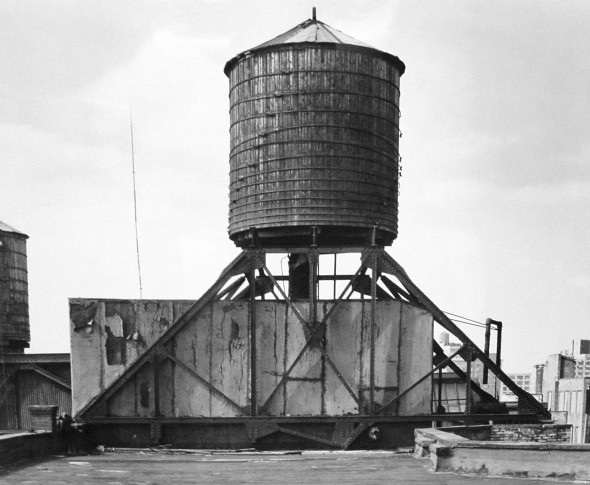 <span class=&#34;artist&#34;><strong>Bernd & Hilla Becher</strong></span>, <span class=&#34;title&#34;><em>Water Tower, Broadway and Broome Street</em>, 1978</span>