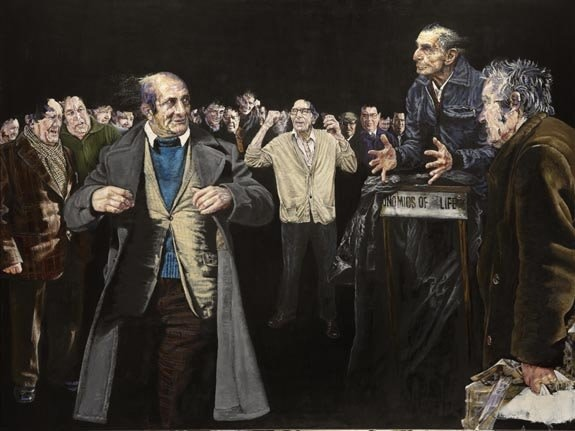 <span class=&#34;artist&#34;><strong>Clare Shenstone</strong></span>, <span class=&#34;title&#34;><em>Those at Speaker's Corner</em>, 2006</span>
