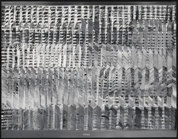 "<span class=""artist""><strong>Heinz Mack</strong></span>, <span class=""title""><em>Ohne Titel [Untitled]</em>, 1957</span>"