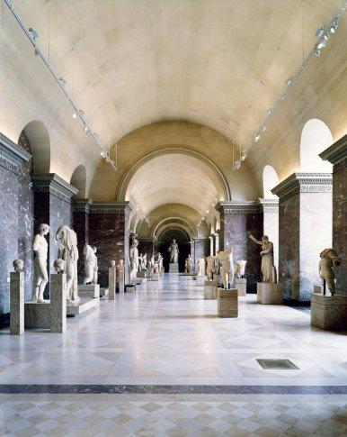 """<span class=""""artist""""><strong>Candida Höfer</strong></span>, <span class=""""title""""><em>Musée du Louvre Paris XIII 2005</em></span>"""
