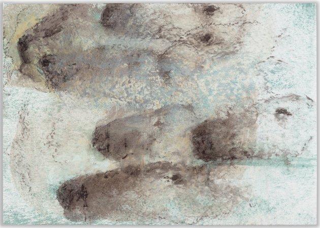 """<span class=""""artist""""><strong>Miquel Barceló</strong></span>, <span class=""""title""""><em>Têtes</em>, 2013</span>"""