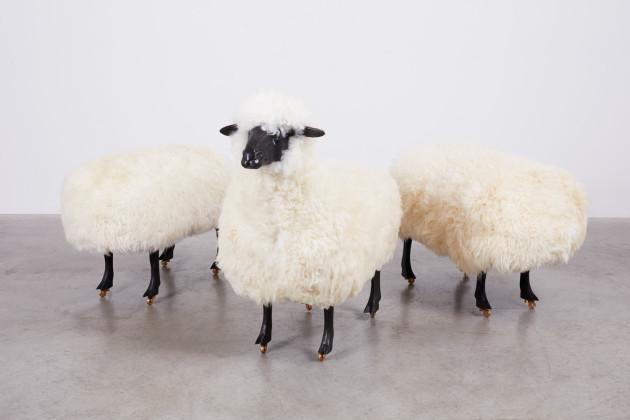<span class=&#34;artist&#34;><strong>François-Xavier Lalanne</strong></span>, <span class=&#34;title&#34;><em>Moutons de Laine (group of 3)</em>, 1965/1974</span>