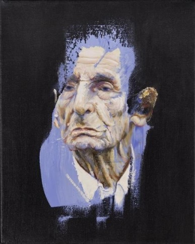 <span class=&#34;artist&#34;><strong>Clare Shenstone</strong></span>, <span class=&#34;title&#34;><em>Study of Speaker's Head on Blues</em>, 2007</span>