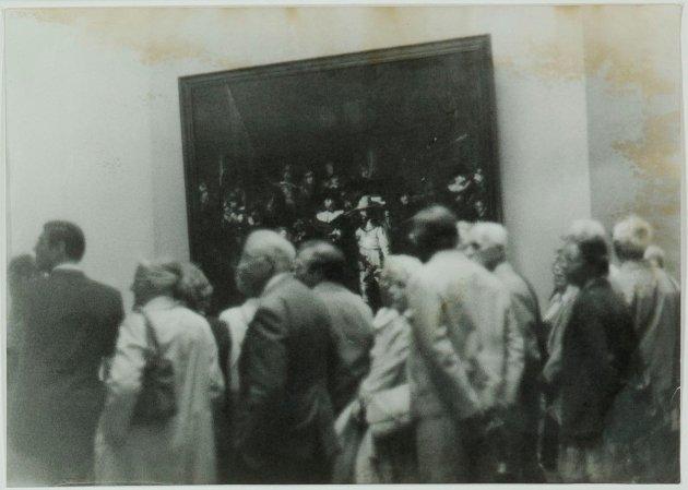 "<span class=""artist""><strong>Sigmar Polke</strong></span>, <span class=""title""><em>Ohne Titel (""Nachtwache"" im Petit Palais, Paris)</em>, 1971</span>"