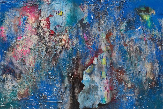 "<span class=""artist""><strong>José Parlá</strong></span>, <span class=""title""><em>Imprint</em>, 2018</span>"