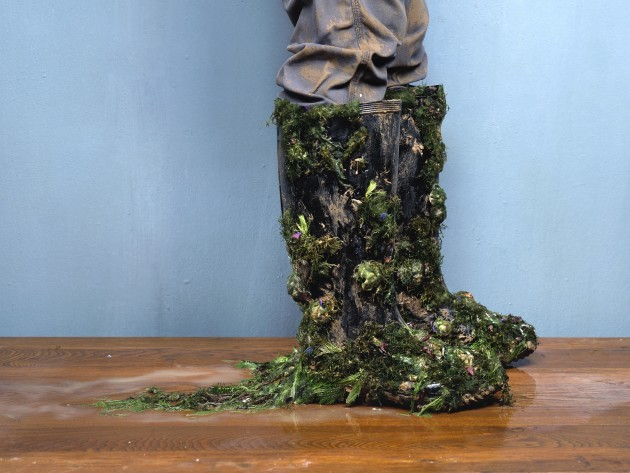 "<span class=""artist""><strong>Chen Wei</strong></span>, <span class=""title""><em>Wading Boots</em>, 2010</span>"