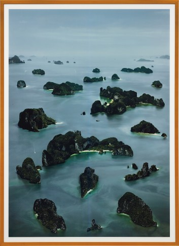 <span class=&#34;artist&#34;><strong>Andreas Gursky</strong></span>, <span class=&#34;title&#34;><em>James Bond Island III</em>, 2007</span>