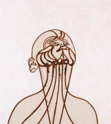 <span class=&#34;artist&#34;><strong>Tony Bevan</strong></span>, <span class=&#34;title&#34;><em>Self-Portrait after Messerschmidt (PC1018)</em>, 2010</span>
