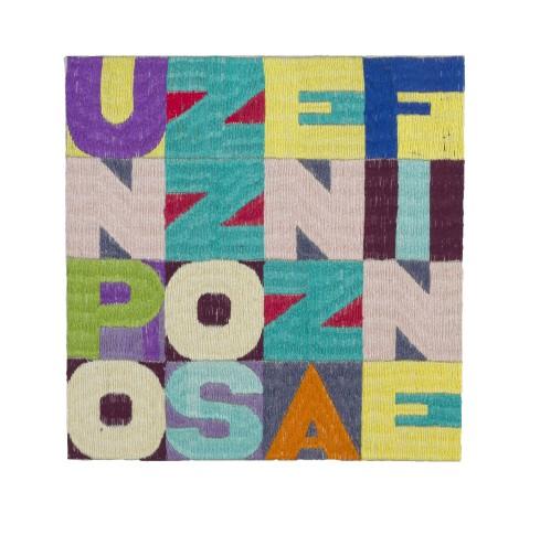 <span class=&#34;artist&#34;><strong>Alighiero Boetti</strong></span>, <span class=&#34;title&#34;><em>Un Pozzo Senza Fine</em>, c. 1991</span>