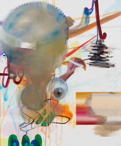 <span class=&#34;artist&#34;><strong>Albert Oehlen</strong></span>, <span class=&#34;title&#34;><em>Farbe in Bäumen [Colour in Trees]</em>, 2005</span>
