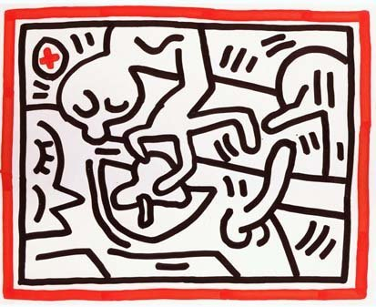 <span class=&#34;artist&#34;><strong>Keith Haring</strong></span>, <span class=&#34;title&#34;>Untitled, November 21, 1984</span>