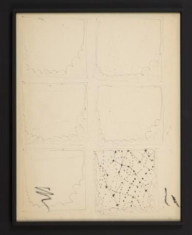 <span class=&#34;artist&#34;><strong>Lucio Fontana</strong></span>, <span class=&#34;title&#34;><em>6 Studi per Teatrini</em>, 1964-1966</span>