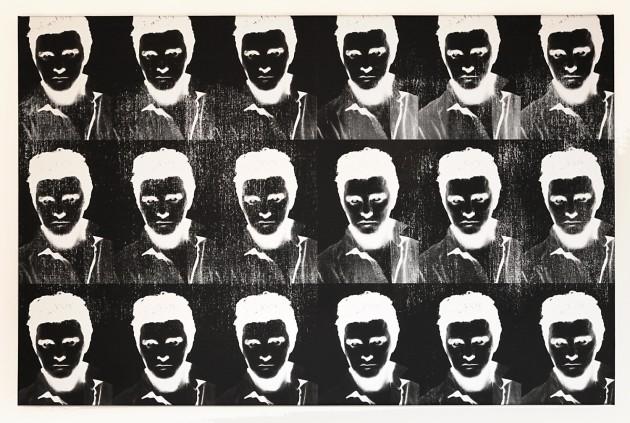 <em>Multiple Negative Elvis Silver</em>, 2011