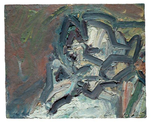 <span class=&#34;artist&#34;><strong>Frank Auerbach</strong></span>, <span class=&#34;title&#34;><em>Gerda Boehm (Leaning on her Hand)</em>, 1980</span>