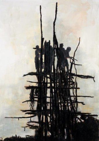 <span class=&#34;artist&#34;><strong>Heribert C. Ottersbach</strong></span>, <span class=&#34;title&#34;><em>Initiation (Sprung)</em>, 2010</span>