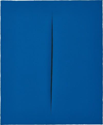 <span class=&#34;artist&#34;><strong>Lucio Fontana</strong></span>, <span class=&#34;title&#34;><em>Concetto Spaziale, Attesa</em>, 1964</span>