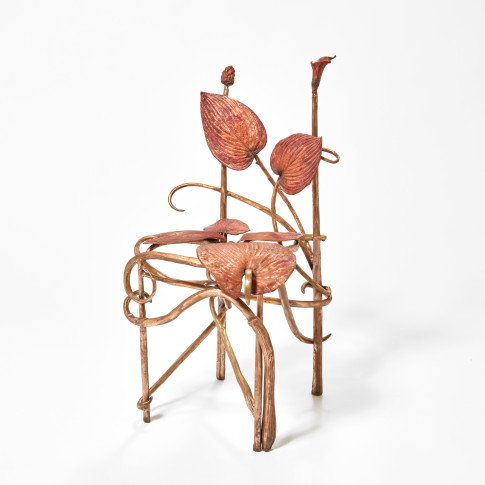 <span class=&#34;artist&#34;><strong>Claude Lalanne</strong></span>, <span class=&#34;title&#34;><em>Chaise Hosta</em>, 2018</span>