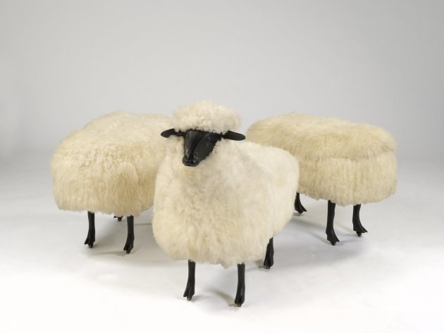 <em>Moutons de Laine (Group of 3)</em>, 1965/1974