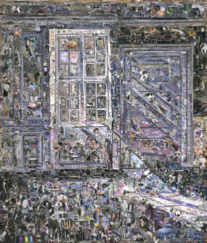 <span class=&#34;artist&#34;><strong>Vik Muniz</strong></span>, <span class=&#34;title&#34;><em>Sunbeams, after Vilhelm Hammershøi</em>, 2012</span>