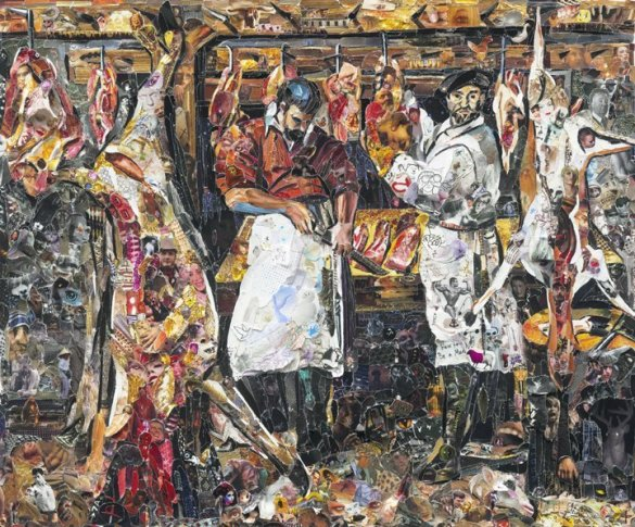 <span class=&#34;artist&#34;><strong>Vik Muniz</strong></span>, <span class=&#34;title&#34;><em>The Butcher's Shop, after Annibale Carraci</em>, 2011</span>