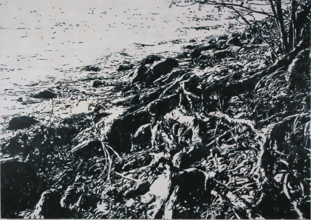 <span class=&#34;artist&#34;><strong>Heribert C. Ottersbach</strong></span>, <span class=&#34;title&#34;><em>Åkerö (Arkadia-Nachbild)</em>, 2008</span>