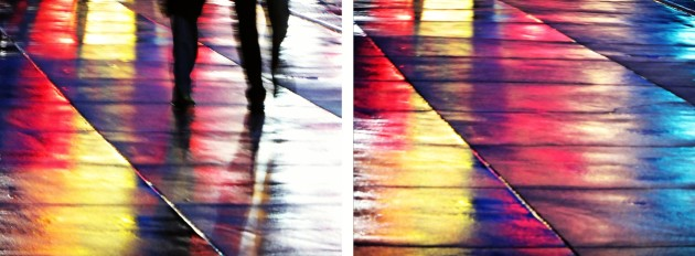 <em>Chromatic Impression #1 & #2 (diptych)</em>, 2013