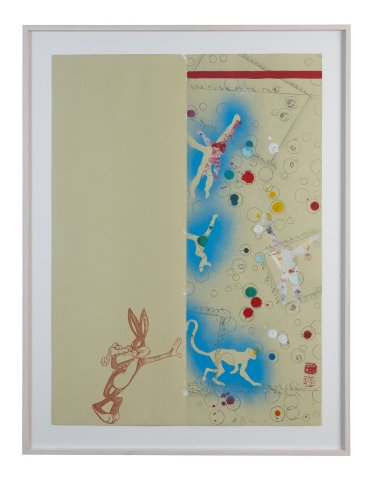 <span class=&#34;artist&#34;><strong>Alighiero Boetti</strong></span>, <span class=&#34;title&#34;><em>Untitled (Bugs Bunny)</em>, 1992</span>