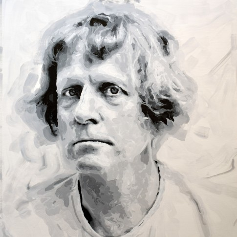 "<span class=""artist""><strong>Rob and Nick Carter</strong></span>, <span class=""title""><em>Grayson Perry Robot Painting, Painting time: 30:05:38  Stroke count: 8,751 17-19 January 2020</em></span>"