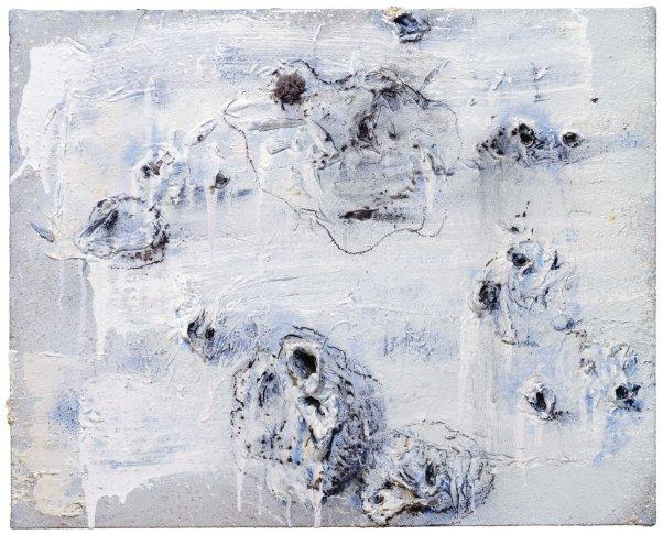 <span class=&#34;artist&#34;><strong>Miquel Barcel&#243;</strong></span>, <span class=&#34;title&#34;><em>Pretomates blav&#243;s</em>, 2008-2010</span>