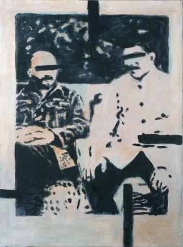 <span class=&#34;artist&#34;><strong>Heribert C. Ottersbach</strong></span>, <span class=&#34;title&#34;><em>Meinen Lehrern gewidmet (Moderne Helden)</em>, 2010</span>