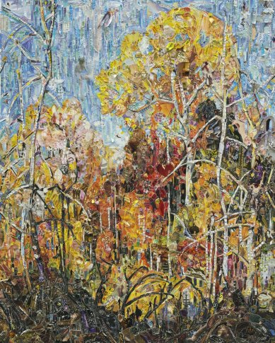 <span class=&#34;artist&#34;><strong>Vik Muniz</strong></span>, <span class=&#34;title&#34;><em>Autumn: Orillia, after Frank Carmichael</em>, 2012</span>