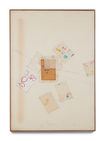 <span class=&#34;artist&#34;><strong>Alighiero Boetti</strong></span>, <span class=&#34;title&#34;><em>Senza Titolo (Cartoline Astratte)</em>, 1989</span>
