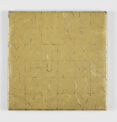 <span class=&#34;artist&#34;><strong>Gavin Turk</strong></span>, <span class=&#34;title&#34;><em>Small Gold Senza Titolo</em>, 2012</span>