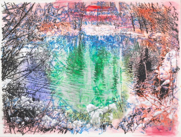 <span class=&#34;artist&#34;><strong>Ena Swansea</strong></span>, <span class=&#34;title&#34;><em>Central Park pond</em>, 2019</span>