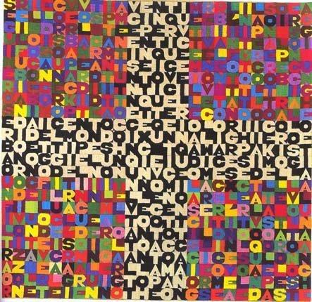 <span class=&#34;artist&#34;><strong>Alighiero Boetti</strong></span>, <span class=&#34;title&#34;><em>L'undicesimo giorno di settembre 1988</em>, 1988</span>