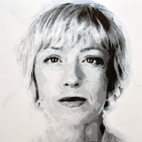 "<span class=""artist""><strong>Rob and Nick Carter</strong></span>, <span class=""title""><em>Cindy Sherman Robot Painting, Painting time: 22:44:11  Stroke count: 7,898  23-24 January 2020 </em></span>"