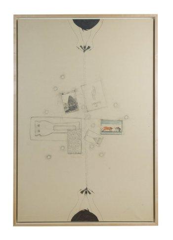 <span class=&#34;artist&#34;><strong>Alighiero Boetti</strong></span>, <span class=&#34;title&#34;><em>Tra Sé e Sé (Fogli e Carte Arrivate fin Qui...)</em>, 1987</span>